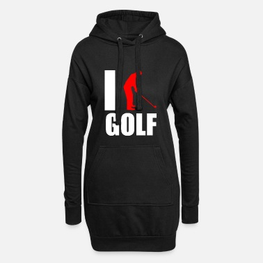 Rabat Golf Caddy Putter Love Love Gift - Hoodie kjole dame