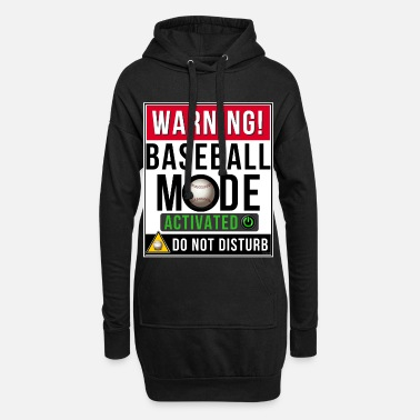 Mode Baseball Mode Mode Activated - Women's Hoodie Dress
