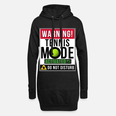 Mode Tennis Mode Mode Activated - Women's Hoodie Dress