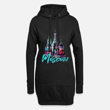 Old Town Moscow old town - Women's Hoodie Dress