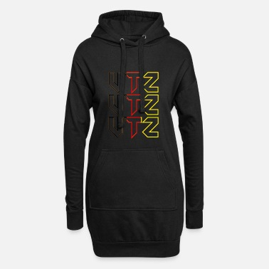 Clubmusic German Rave - Frauen Hoodiekleid