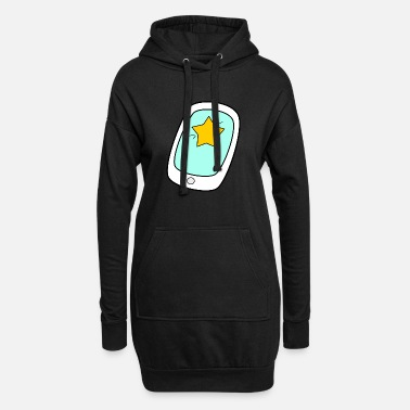 Mobile Phone Mobile Phone Mobile Telephoning - Women's Hoodie Dress