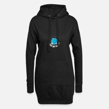 Scooter Driver Scooter electric scooter scooter driver - Women's Hoodie Dress