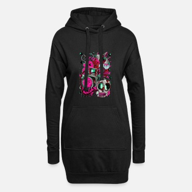 Picture AGAC Picture Bleu et Rose - Robe sweat Femme