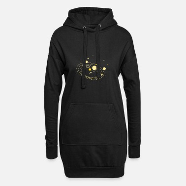 Planet planets - Women's Hoodie Dress