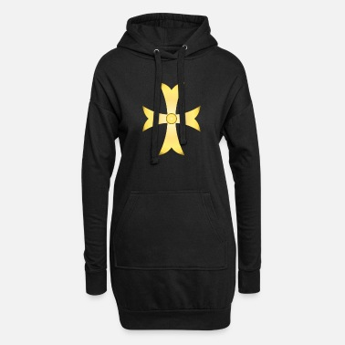 Cross - Knights - Crusaders - Faith - Christian - Women's Hoodie Dress