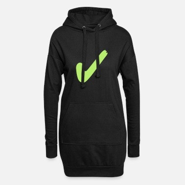 Right right - Women's Hoodie Dress