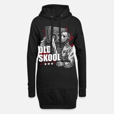 Hop chemise old school hip hop old school - Robe sweat Femme