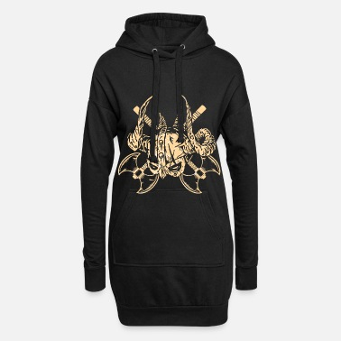 Viking Viking Middle Ages - Women's Hoodie Dress