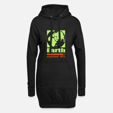 Exploit Earth exploited - Women's Hoodie Dress