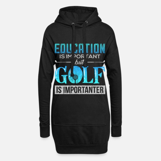 Golf Sweat-shirts - Golf Golfer Golf Golf Golf Gift - Robe sweat Femme noir