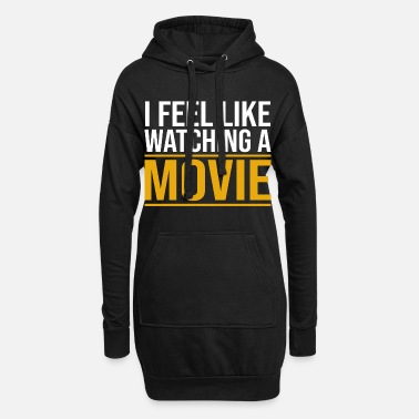 Serie Film Film Viser Lover Addicted fans Cinema - Hoodie kjole dame