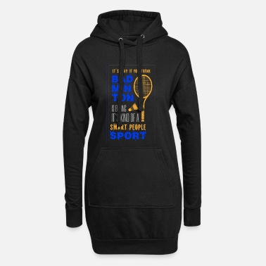 Fan Fan de badminton fan de badminton - Robe sweat Femme