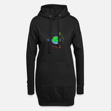 Global globalization - Women's Hoodie Dress