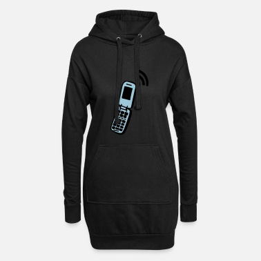 Handy Handy - Frauen Hoodiekleid