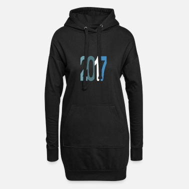 Established Established 2017 - Frauen Hoodiekleid