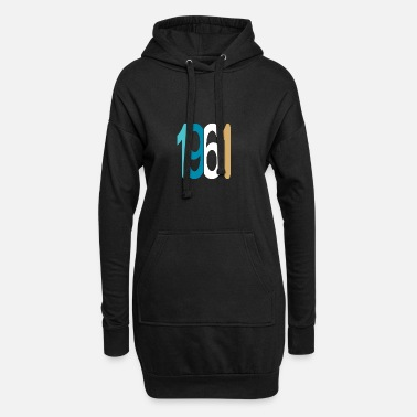 Established Established 1961 - Frauen Hoodiekleid