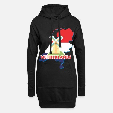 Holland Holland Holland - Hoodie kjole dame