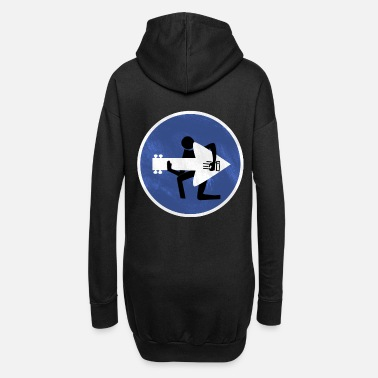 guitarist - Women's Hoodie Dress