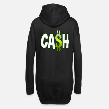 Cash Cash - Frauen Hoodiekleid