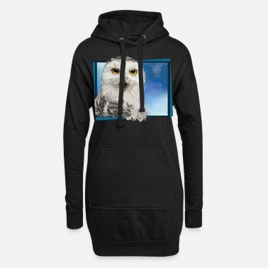 Hibou Harfang des neiges - Robe sweat Femme