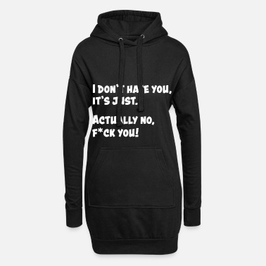 Funny Funny Funny Quote Funny Gift Funny - Women's Hoodie Dress