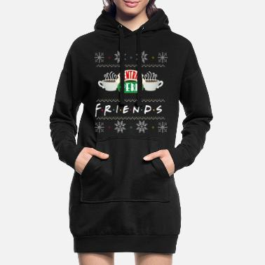 Friends Pull Moche De Noël Central Perk - Robe sweat Femme