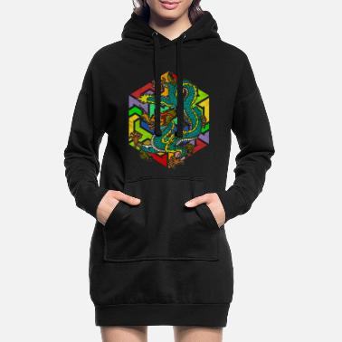 Mythology Mythology Dragon - Women's Hoodie Dress