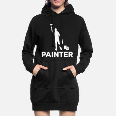 Painter Painter Painter - Women's Hoodie Dress