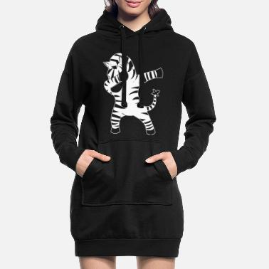Tampon Tamponner zèbre tamponner - Robe sweat Femme