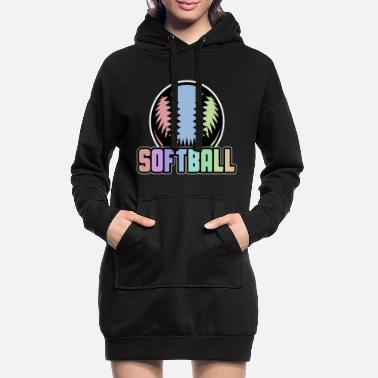 Softball softball - Robe sweat Femme