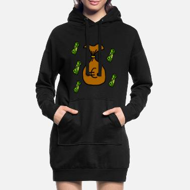 Wealth Money - wealth - Women's Hoodie Dress