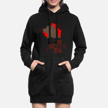 Sympathie Grizzly sympathique - Robe sweat Femme