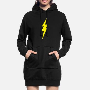 Lightning lightning bolt - Women's Hoodie Dress