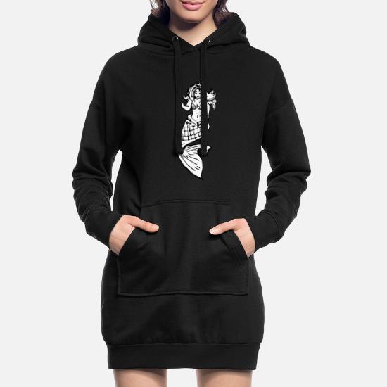 Vollschlanke Meerjungfrau Frauen Hoodiekleid Spreadshirt