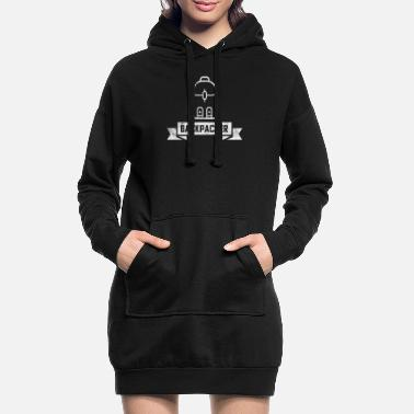 Backpacker Backpacker - Hoodie kjole dame