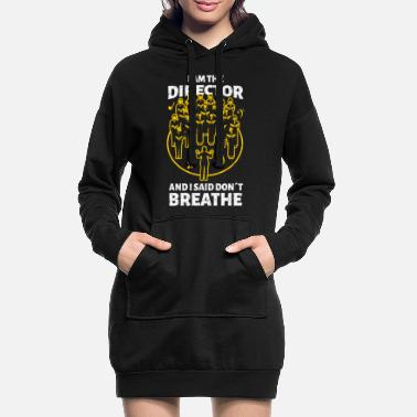 Director Director theater director sarcasm director - Women's Hoodie Dress