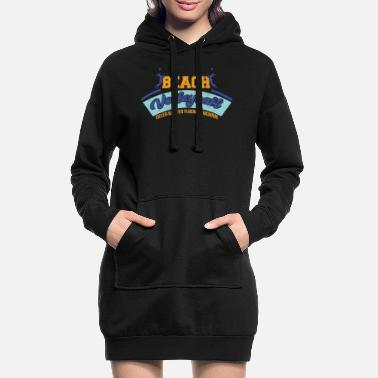 Beachvolley beachvolley - Hoodie kjole dame