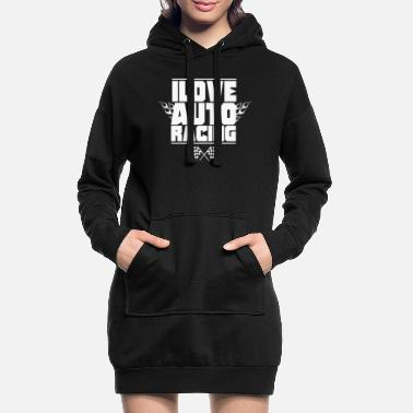 Course Automobile Course automobile course automobile - Robe sweat Femme