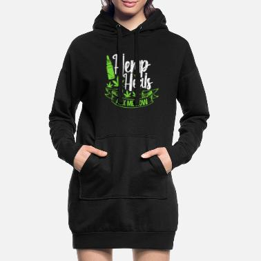 Hemp hemp - Women's Hoodie Dress