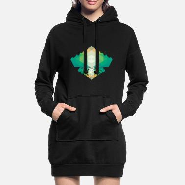 Polygon polygon - Women's Hoodie Dress