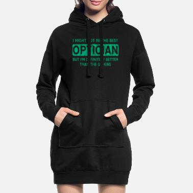 Opticien disant - Robe sweat Femme