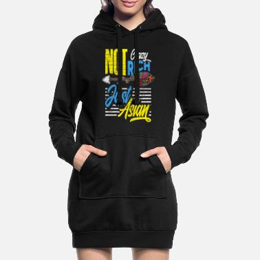 Asiatique Asiate - Robe sweat Femme