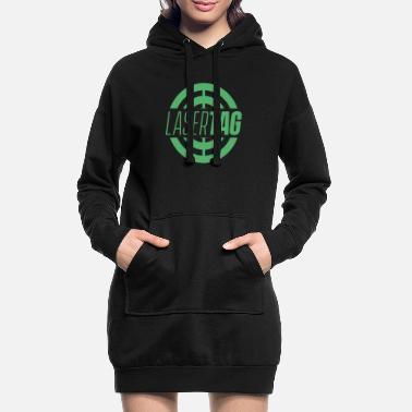 Tag Laser tag - Women's Hoodie Dress