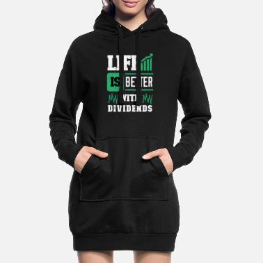 Stock Market Stock Market - Women's Hoodie Dress