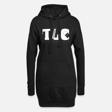 Tlc TLC Wrestling Match Gift Tables Ladders Chairs - Women's Hoodie Dress