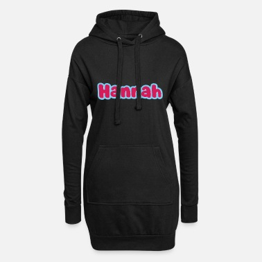 First Name Hannah name first name - Women's Hoodie Dress