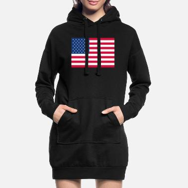 Stars And Stripes Stars and Stripes - Women's Hoodie Dress