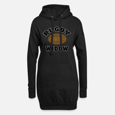 Club RUGBY WIFE WIDOW - Women's Hoodie Dress