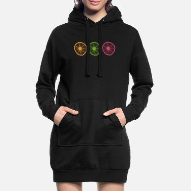 Roue roues - Robe sweat Femme